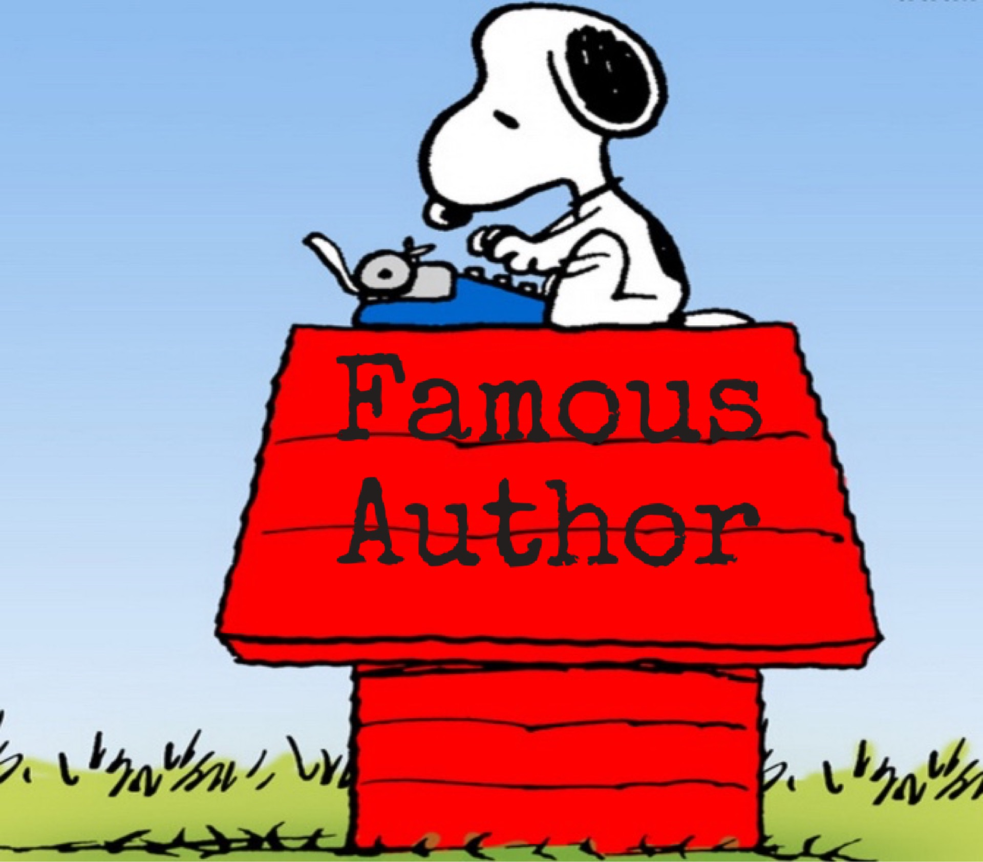 Has been the panda. Writer clipart famous author