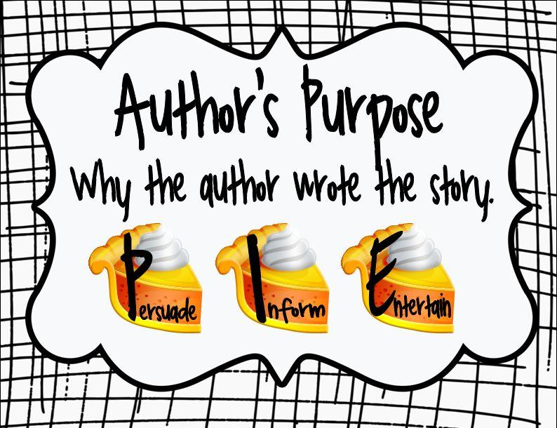 The picture book teacher. Author clipart statement purpose