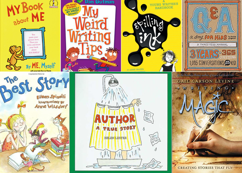 The write stuff books. Author clipart story writing
