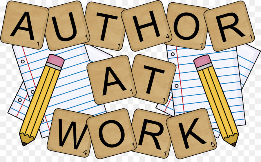 Book logo writer transparent. Clipart writing creative writing
