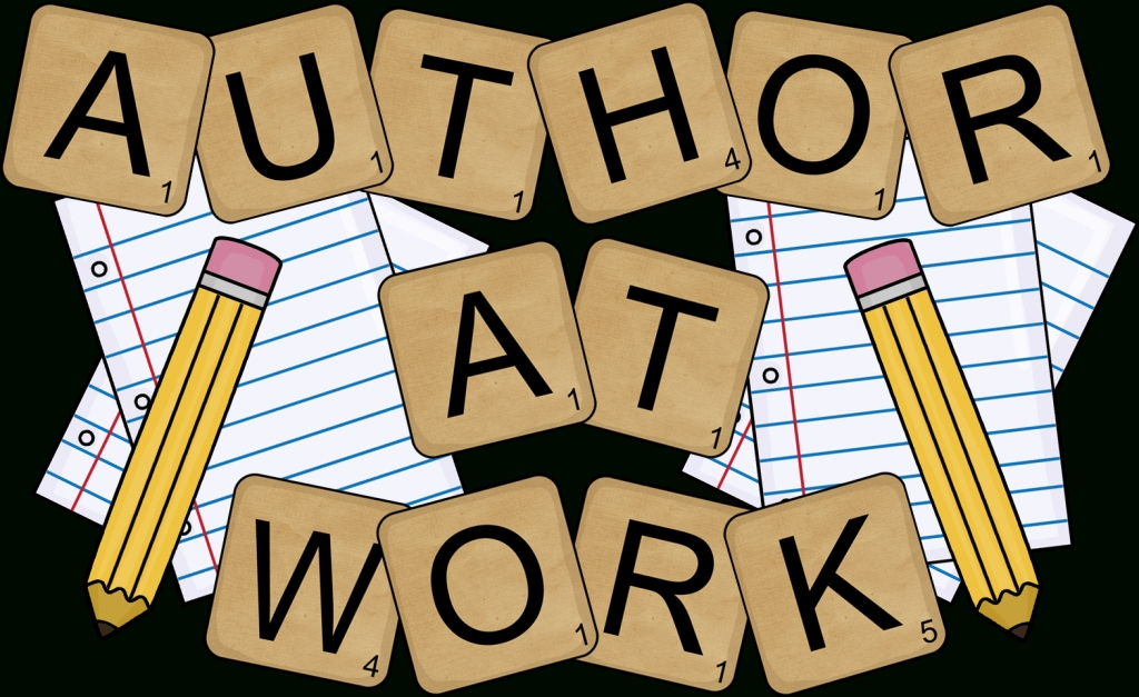 Author clipart work. Free writing journal cliparts