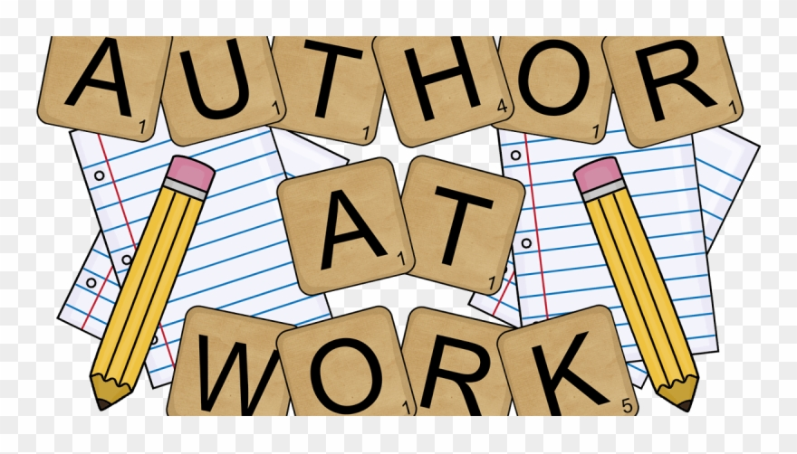 Author clipart work. At pinclipart