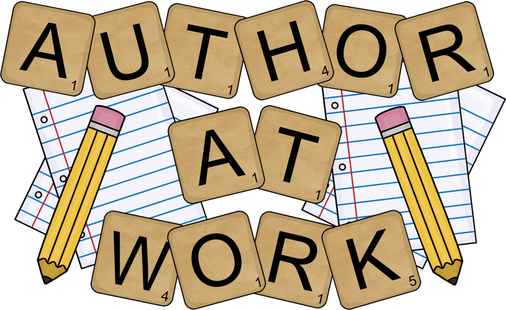Easiest way for an. Author clipart writer