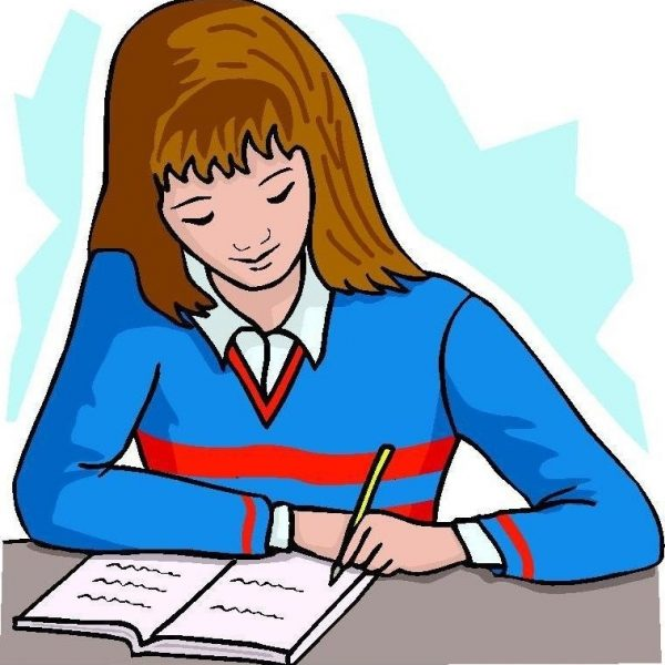 Writing female author graphics. Writer clipart woman writer