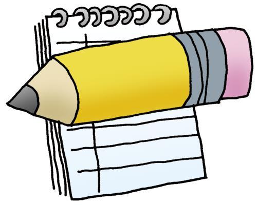 Handwriting clipart novelist.  steps to a
