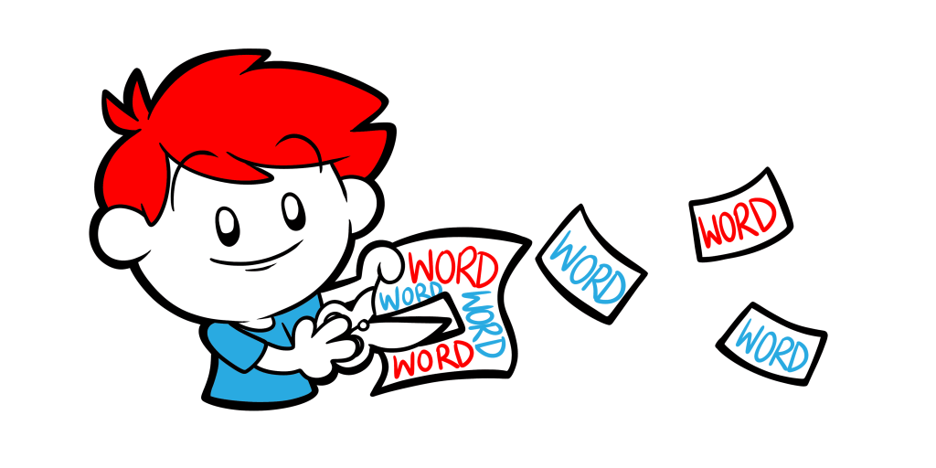 Words clipart writing. How to improve your