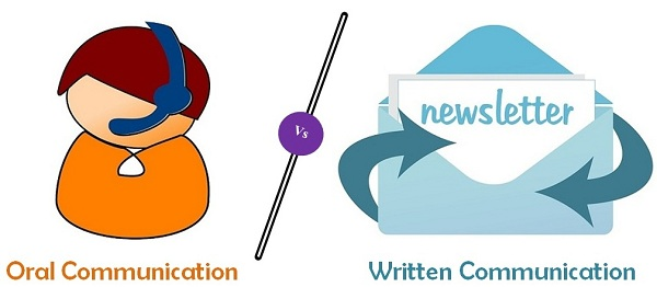 Difference between oral and. Author clipart written communication