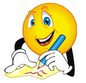Writing clip art black. Author clipart written communication