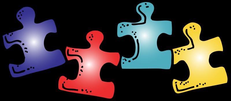 Autism clipart. Puzzle piece hubpicture pin
