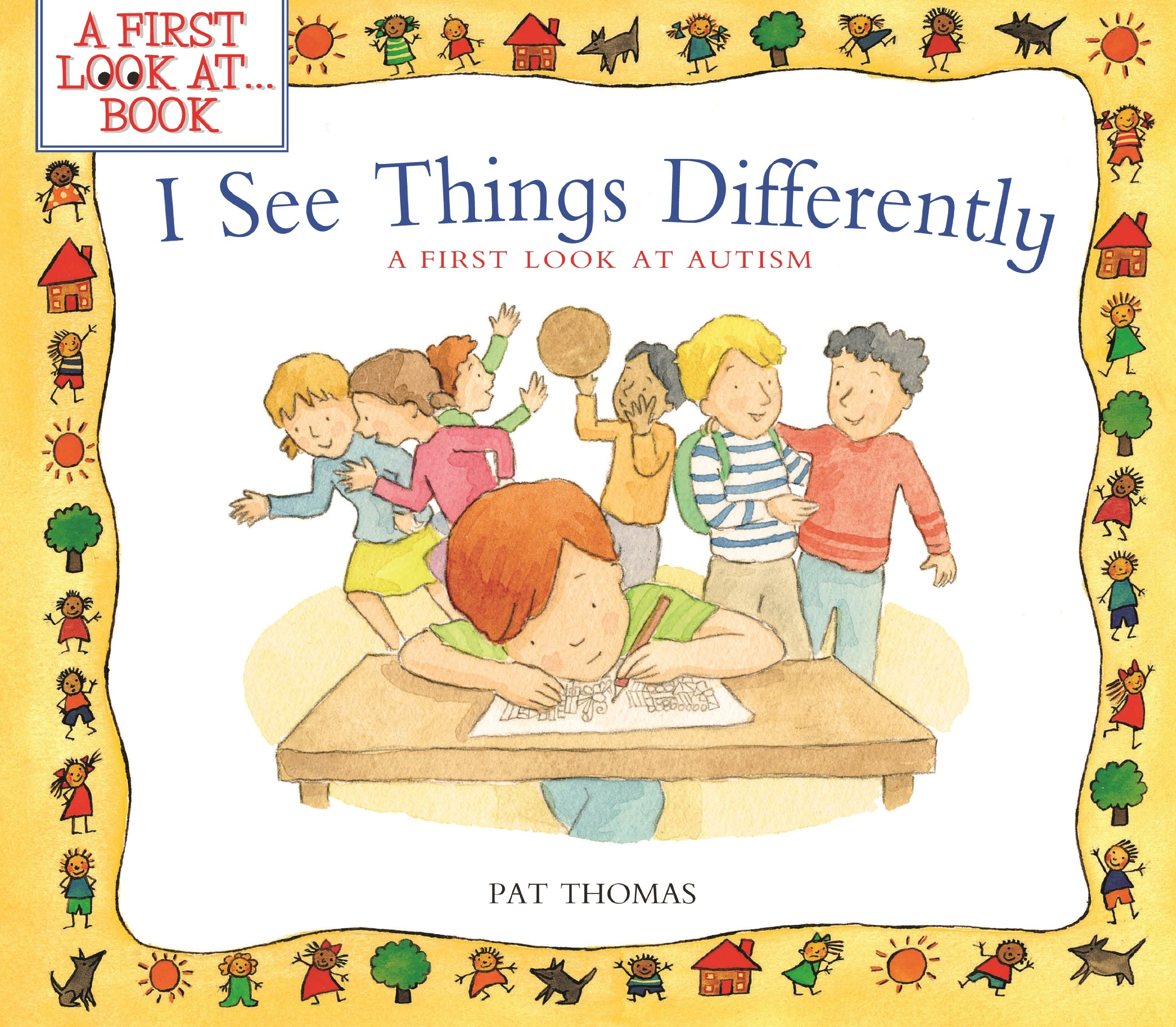 I see things differently. Autism clipart additional need