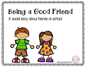 Autism clipart additional need. Being a good friend