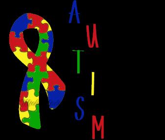Autism clipart autism awareness. April is month e