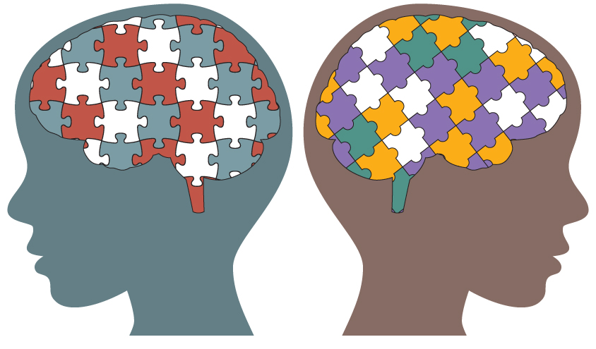 An overdue query in. Autism clipart autism brain
