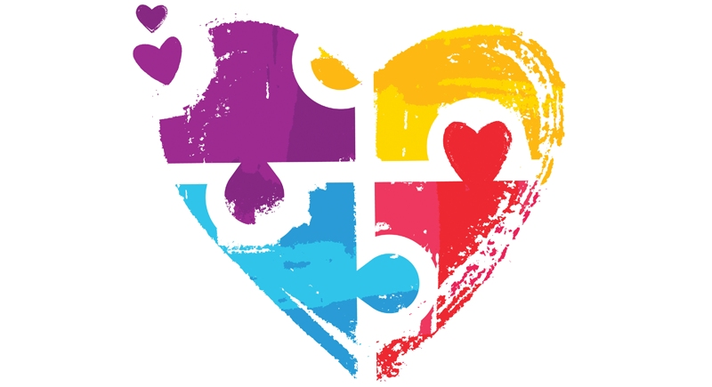 Fresh looks at . Autism clipart autism heart