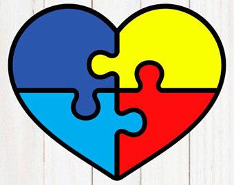 autism clipart autism heart
