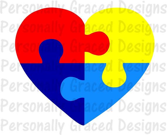 Autism clipart autism heart. Svg dxf eps cut