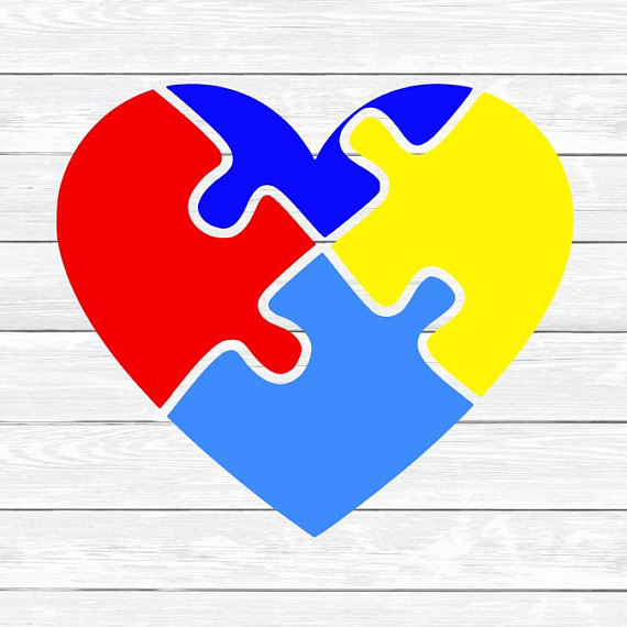 Autism clipart autism heart. Puzzle awareness day svg