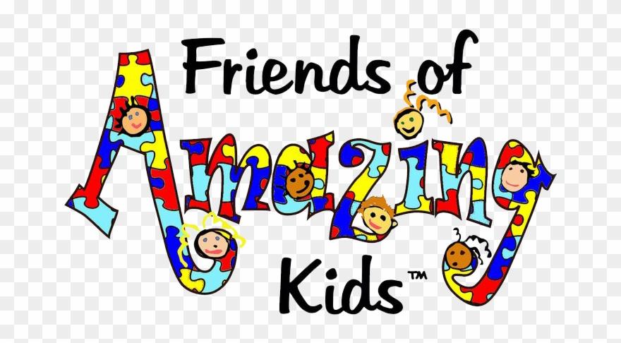 Autism clipart autism kid. Foak friends of amazing