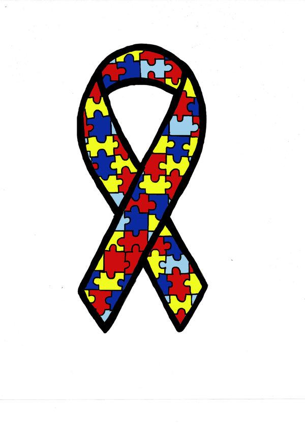 Awareness . Autism clipart autism ribbon