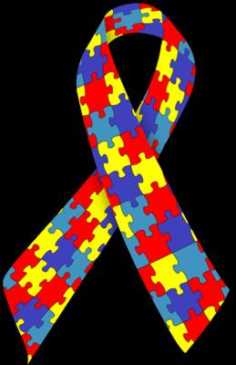 Autism clipart autism ribbon. Clip art of a
