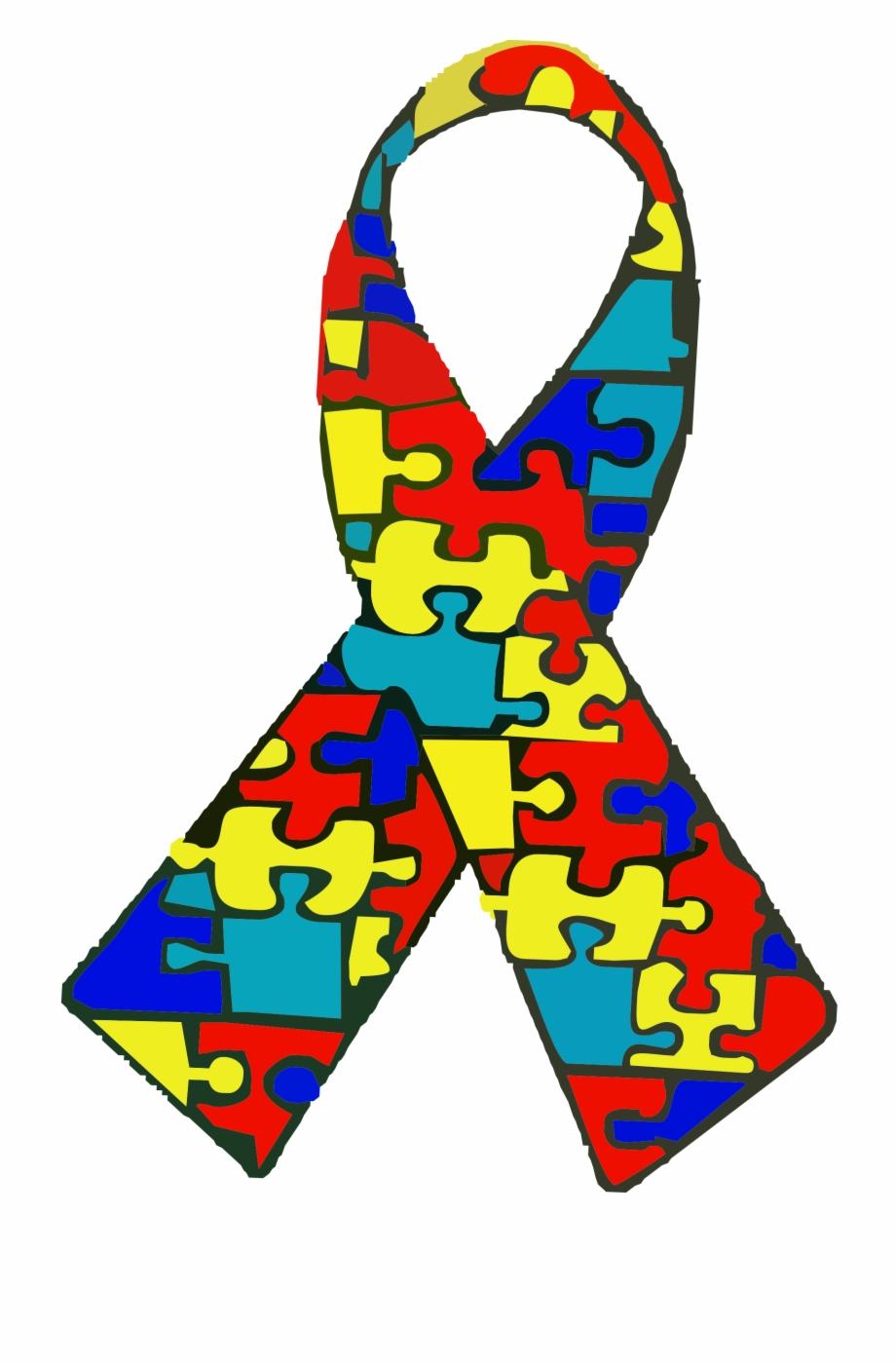 Autism clipart autism ribbon. Awareness spectrum disorder