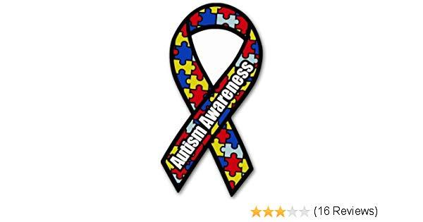 Autism clipart autism symbol. Amazon com awareness ribbon