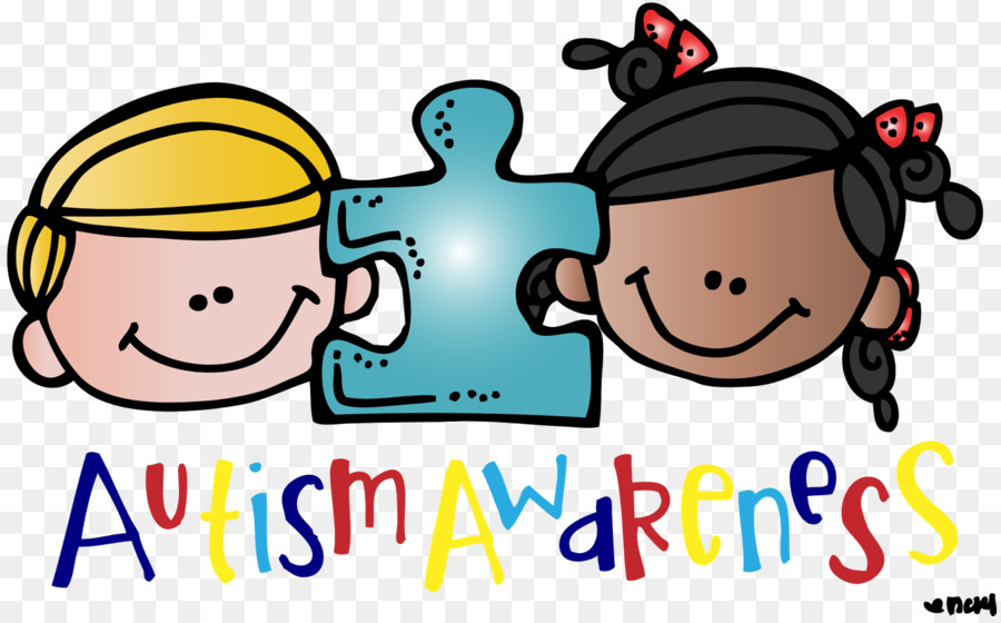 World awareness day clip. Autism clipart autistic child
