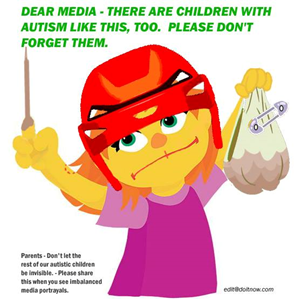 Autism clipart autistic child. A plea to the