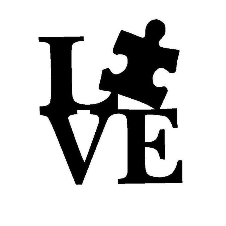 Autism clipart black and white. Download for free png
