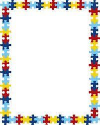 Autism clipart border.  best images on