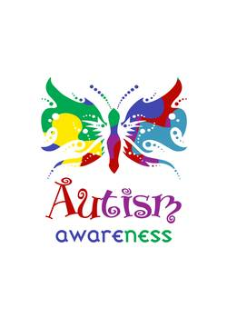 Awareness by darnell wicks. Autism clipart butterfly