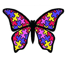 Autism clipart butterfly.  best awareness images