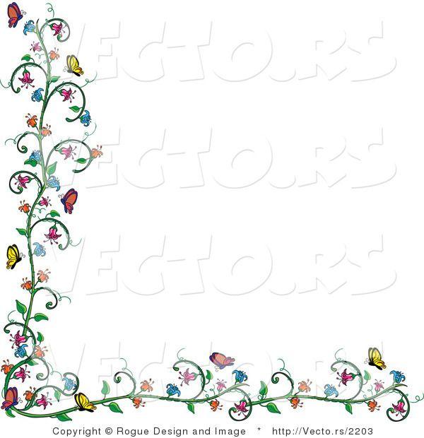 Sunflower clip art pams. Autism clipart colourful border