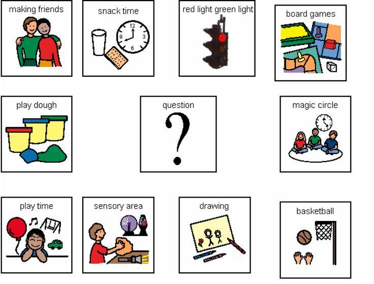 best picture icons. Autism clipart communication management