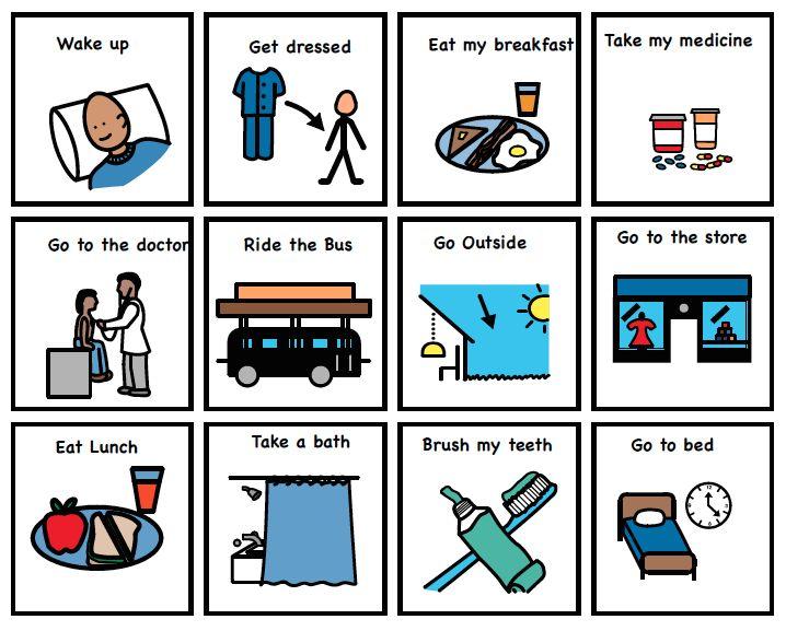 best aac images. Autism clipart communication management