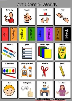Autism clipart communication management. Aided language boards to