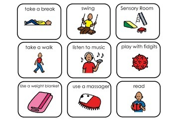 Autism clipart communication management. Board and picture cards