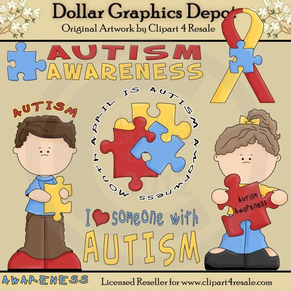 Clip art dollar graphics. Autism clipart cultural awareness