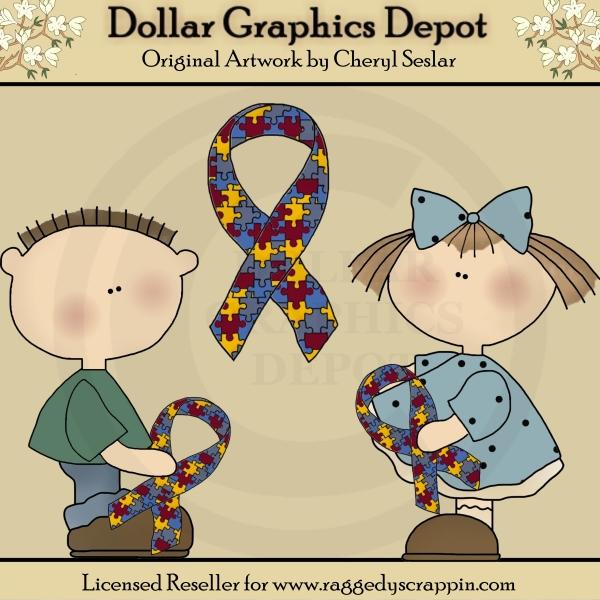 Kids clip art dollar. Autism clipart cultural awareness