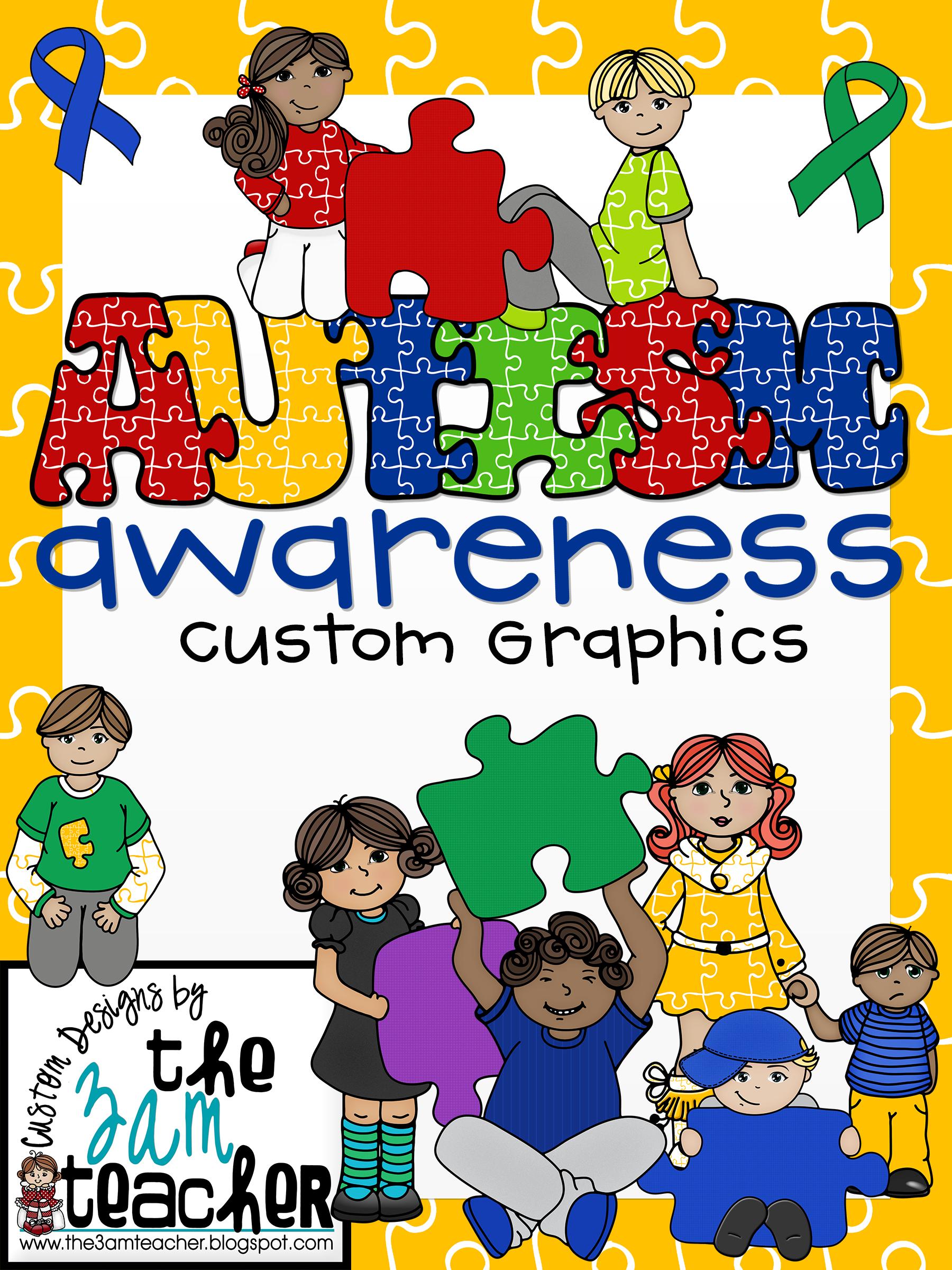 Autism clipart cultural awareness. Clip art graphics set