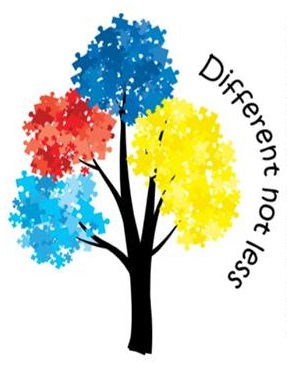 Autism clipart different not less. Regional australia support network