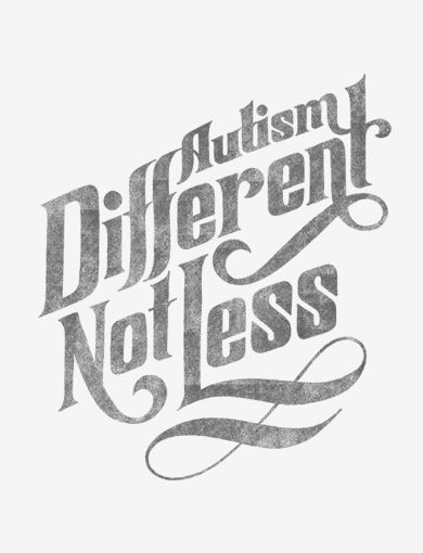 What more can you. Autism clipart different not less