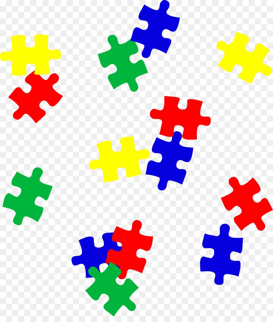 autism clipart jigsaw