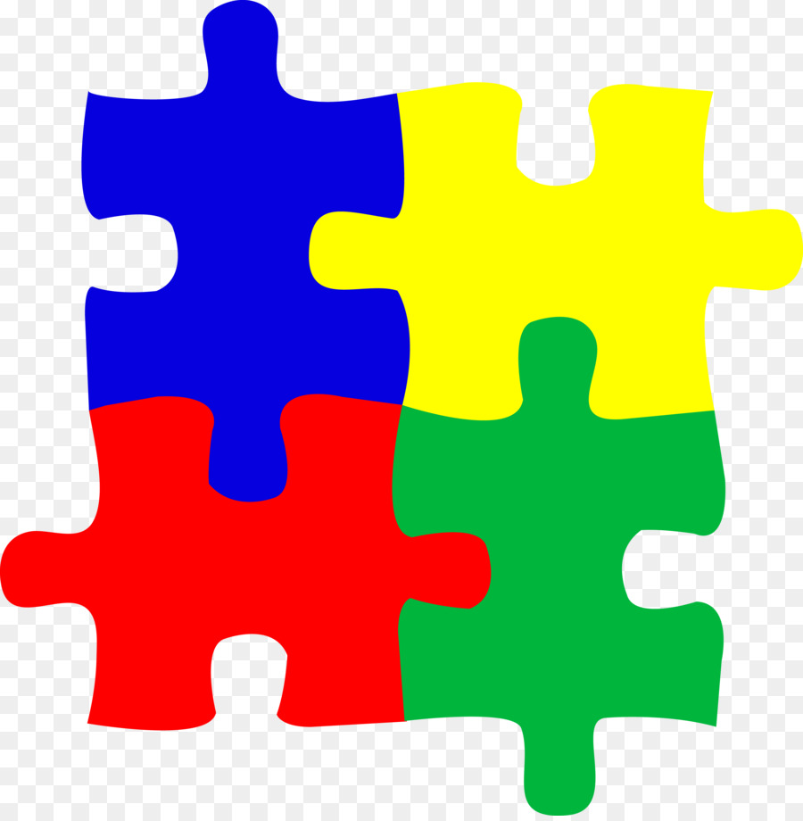 Puzzles world awareness day. Autism clipart jigsaw