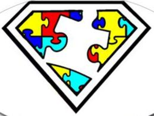 Is a superpower free. Autism clipart logo