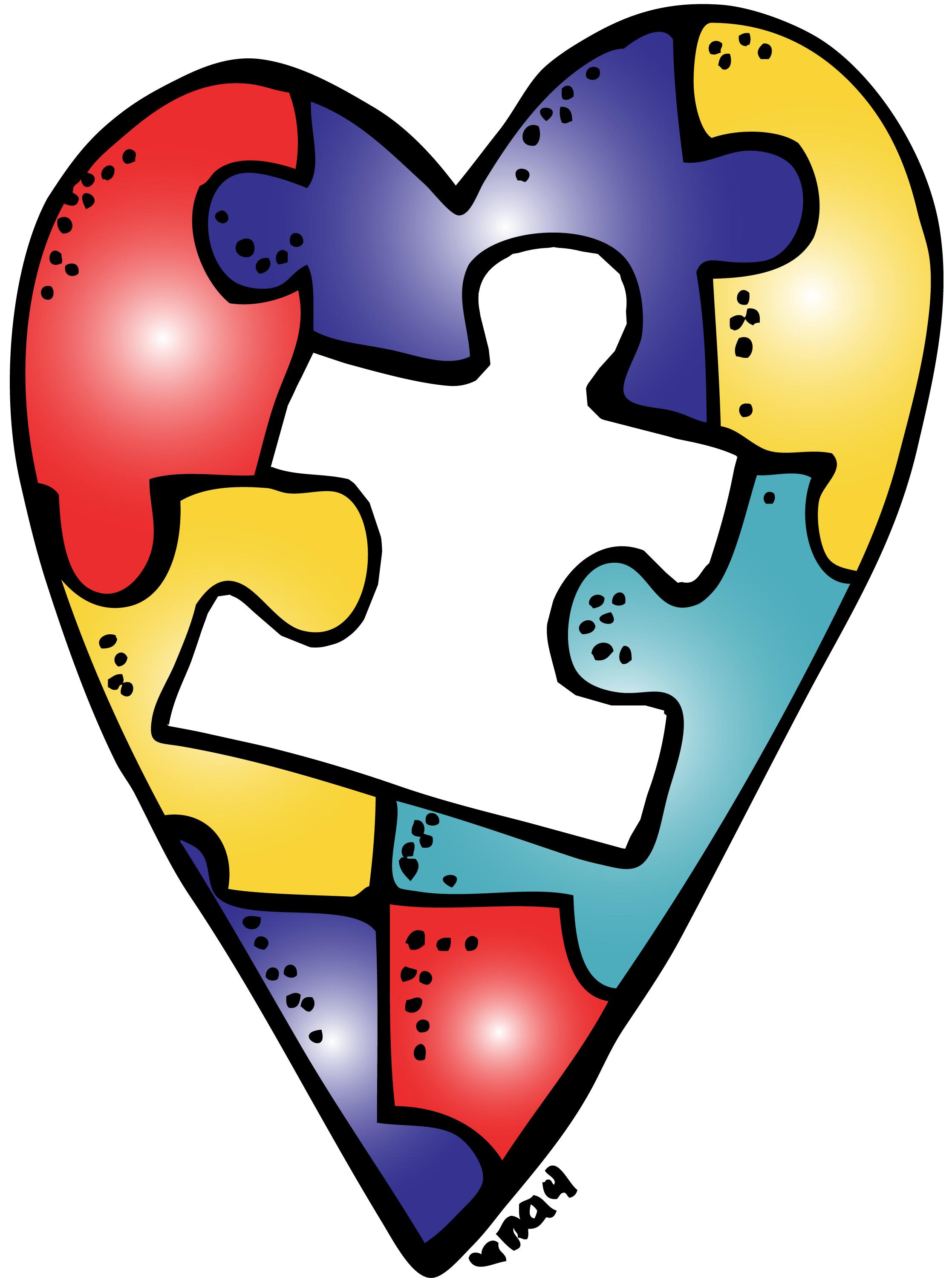 Autism clipart melonheadz. Pin by jean stanley