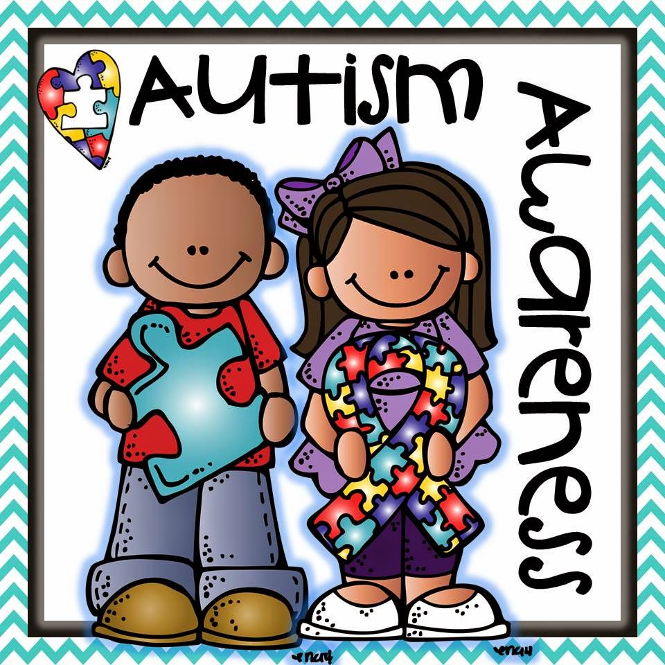 National awareness month . Autism clipart melonheadz