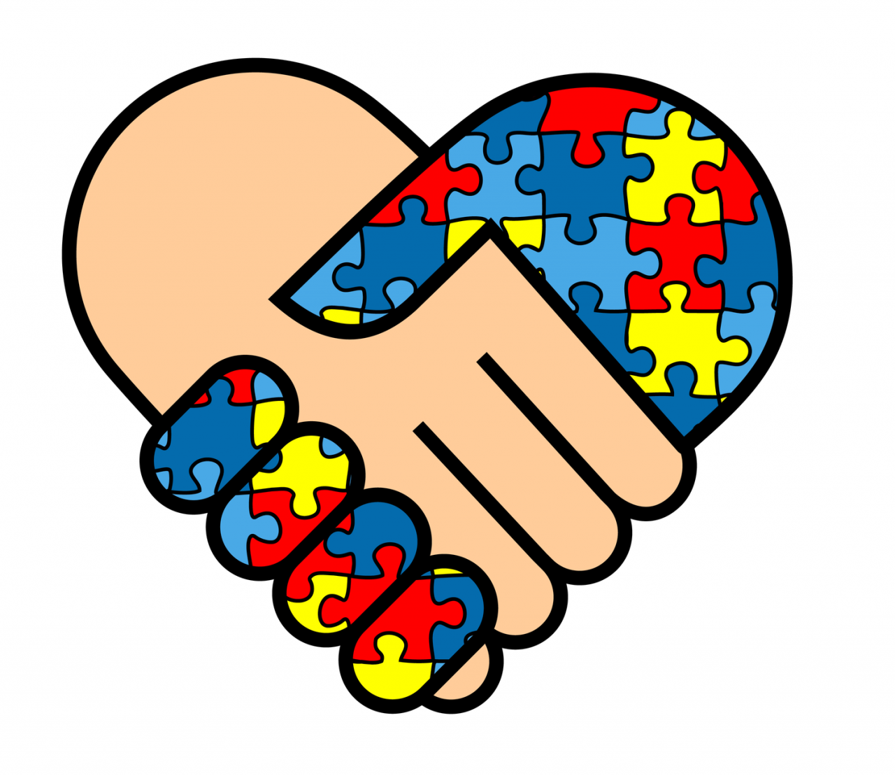 And the puzzle daily. Autism clipart one piece at time
