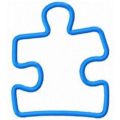 Autism clipart outline. Puzzle piece clip art