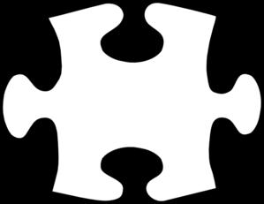 Puzzle piece pks asp. Autism clipart outline